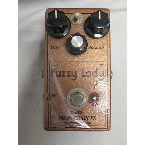 used plum crazy fuzzy lady effect pedal guitar center. Black Bedroom Furniture Sets. Home Design Ideas