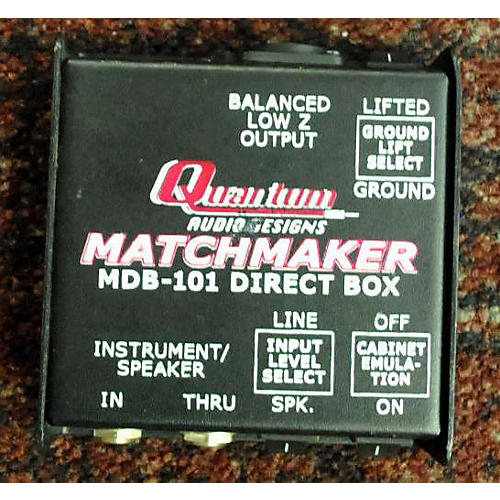 In Store Used Used Quantum MDB-101 Pedal