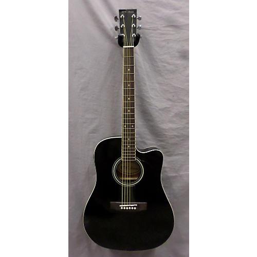 used r w jameson standard black acoustic guitar guitar center. Black Bedroom Furniture Sets. Home Design Ideas