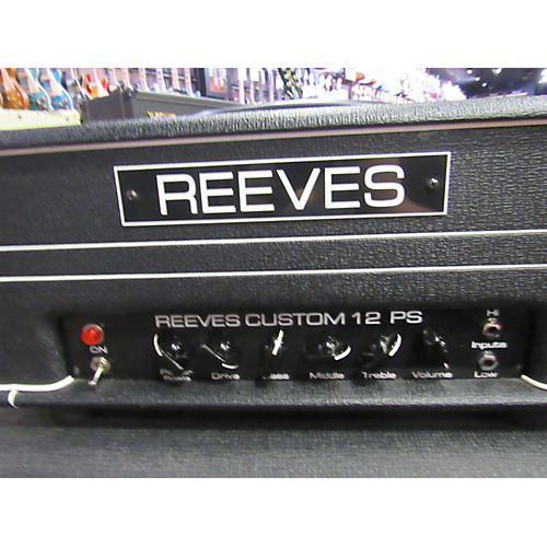 used reeves custom 12 ps tube guitar amp head guitar center. Black Bedroom Furniture Sets. Home Design Ideas