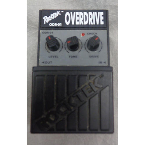 In Store Used Used ROCKTEK ODR01 OVERDRIVE Effect Pedal