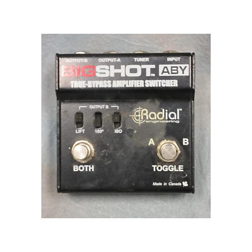 In Store Used Used Radial Big Shot ABY Pedal