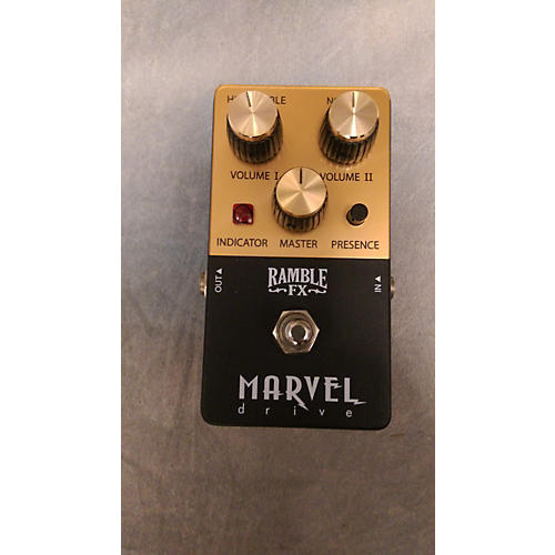 In Store Used Used Ramble FX Marvel Drive Effect Pedal