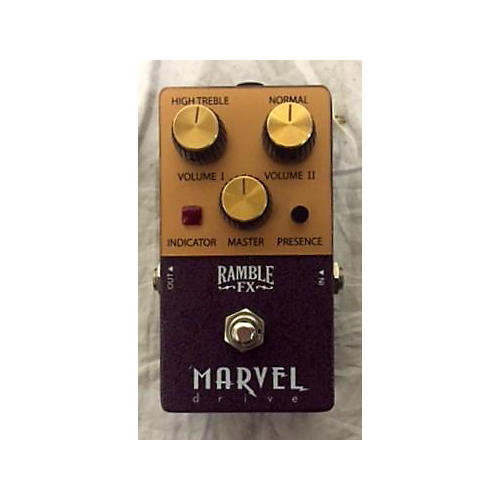 In Store Used Used Ramble Fx Marvel Effect Pedal