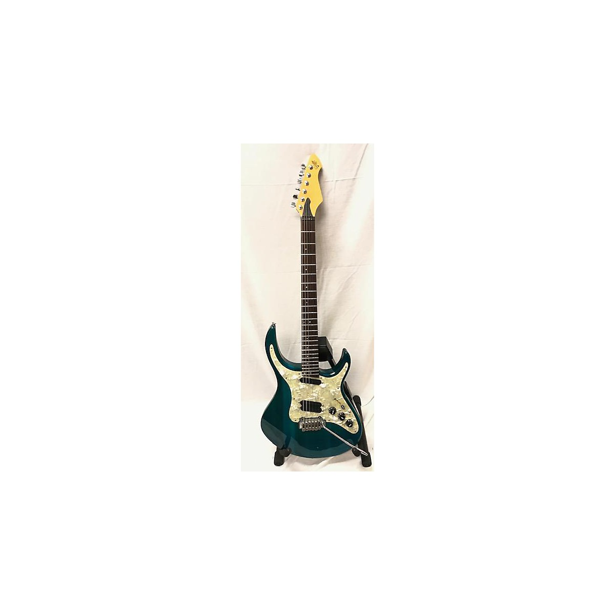 In Store Used Used Revalation RTX Trans Blue Solid Body Electric Guitar