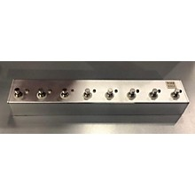 Used Road Rage 8 Channel True Bypass Pedal Switcher Pedal