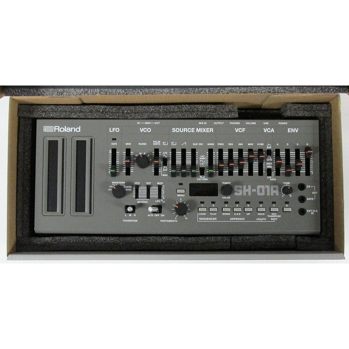 In Store Used Used Roalnd Sh-01a Module Synthesizer