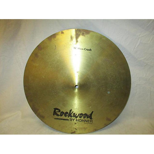 In Store Used Used Rockwood By Hohner 16in Crash Cymbal