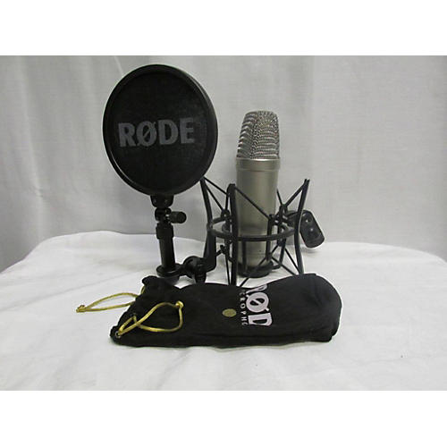 used rode nt1 a condenser microphone guitar center. Black Bedroom Furniture Sets. Home Design Ideas