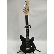 Used Rouge Rocketeer Black Solid Body Electric Guitar
