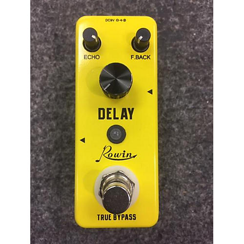In Store Used Used Rowin Delay Effect Pedal