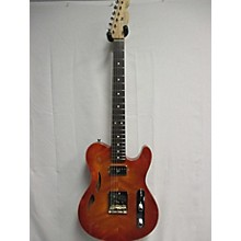 Used Ruokangas Mojo Grande Heritage Cherry Burst Hollow Body Electric Guitar