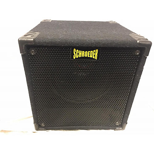 In Store Used Used SCHRODER MINI 12R Bass Cabinet