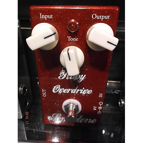 In Store Used Used SMILETONE AUDIO RUBY OVERDRIVE Effect Pedal
