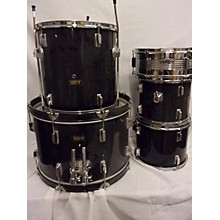 Used SOUD SOURCE 5 piece DRUM SET Black Drum Kit
