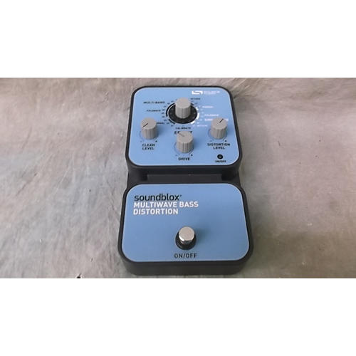 In Store Used Used SOUNDBLOX MULTIWAVE Bass Effect Pedal
