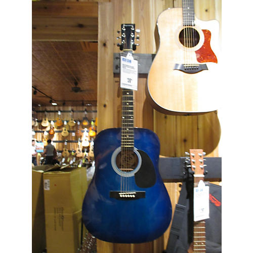 Used Spencer No Name Acoustic Blue Acoustic Guitar Guitar Center