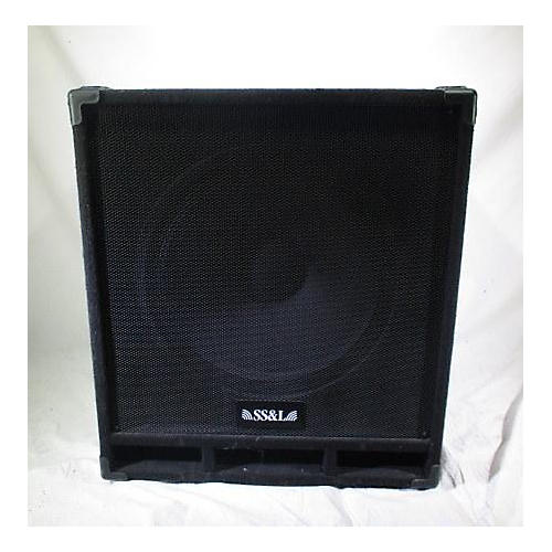 In Store Used Used SS&L ARB1181 Unpowered Subwoofer