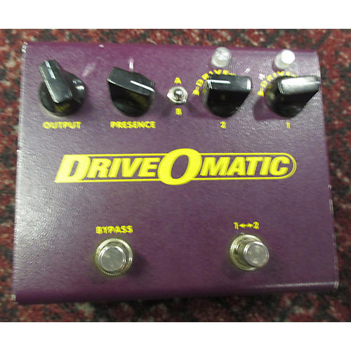 In Store Used Used STAMPS AMPLIFICATION DRIVEOMATIC Effect Pedal