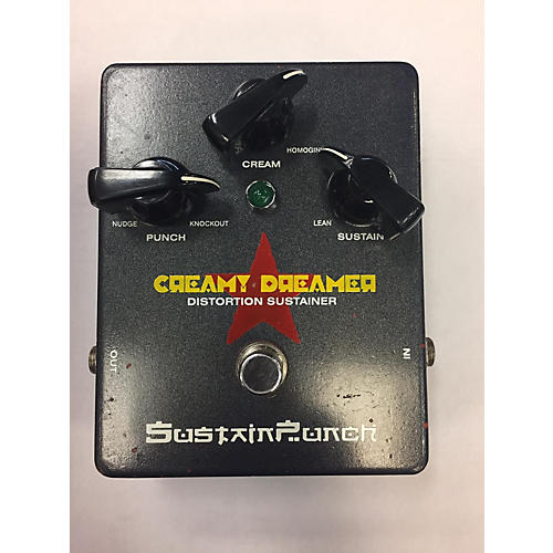In Store Used Used SUSTAIN PUNCH CREAMY DREAMER Effect Pedal