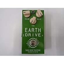 Used Sarno Music Solutions Earth Drive Effect Pedal