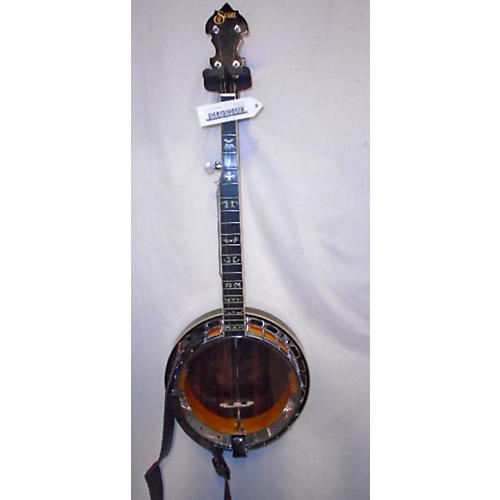In Store Used Used Scott 5-string Closed Back Natural Banjo