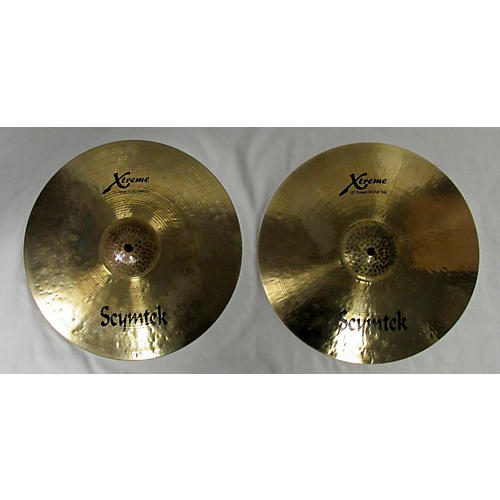 In Store Used Used Scymtek 15in Extreme Hihats Cymbal