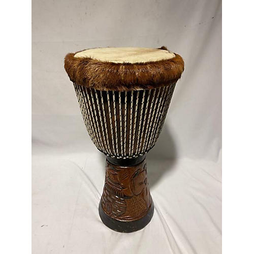 In Store Used Used Senegalese Hand Made Djembe Large Djembe