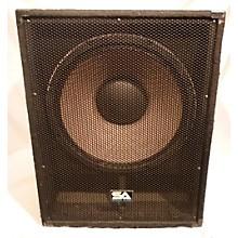Used Sesimic Audio Enforcer 2 Unpowered Speaker