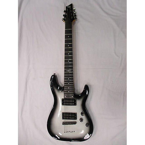 In Store Used Used Sgr 7 String Silver Burst Solid Body Electric Guitar