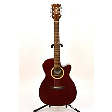 Used Sierra SA28CE Wine Red Acoustic Electric Guitar
