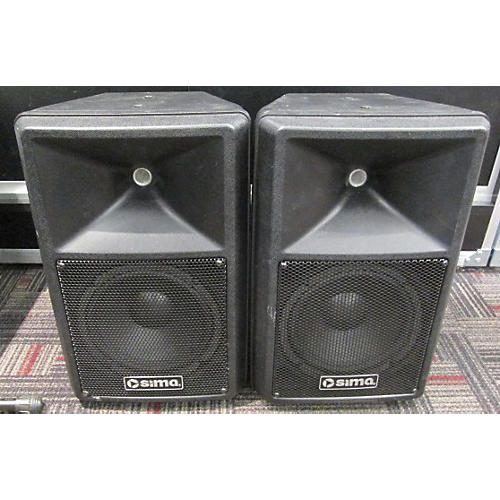 In Store Used Used Sima XL-SP8-pR Powered Speaker