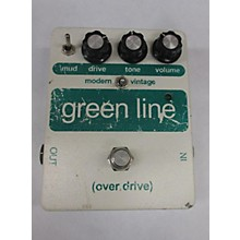 Used Smart People Factory Green Line Overdrive Effect Pedal