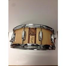 Used Snarebear 6X14 Polar Drum Natural