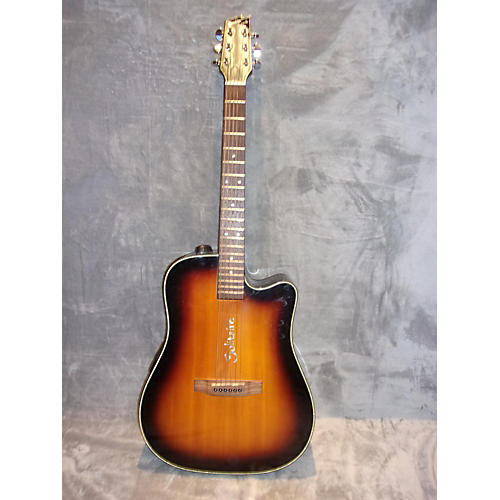 In Store Used Used Solitaire ECR2C Natural Acoustic Electric Guitar