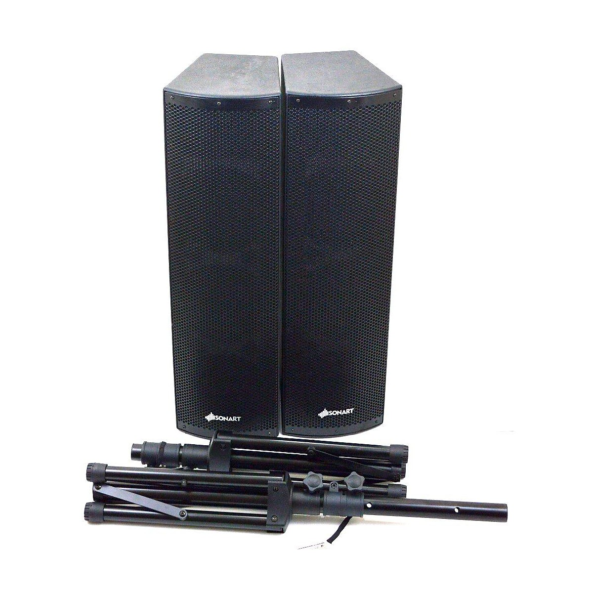 In Store Used Used Sonart PA System 2000w Powered Speaker