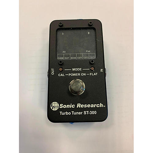 In Store Used Used Sonic Research Turbo Tuner ST-300 Tuner Pedal