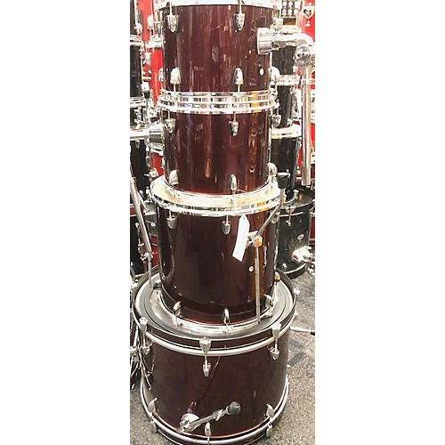 In Store Used Used Sound Percussion 4 piece 4 Piece Red Drum Kit