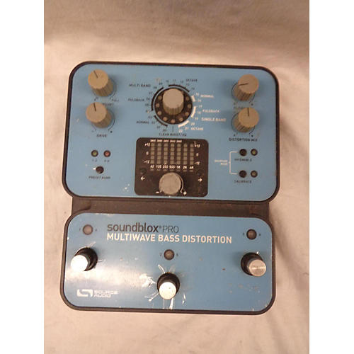 In Store Used Used Soundblox Mutiwave Distortion Bass Effect Pedal