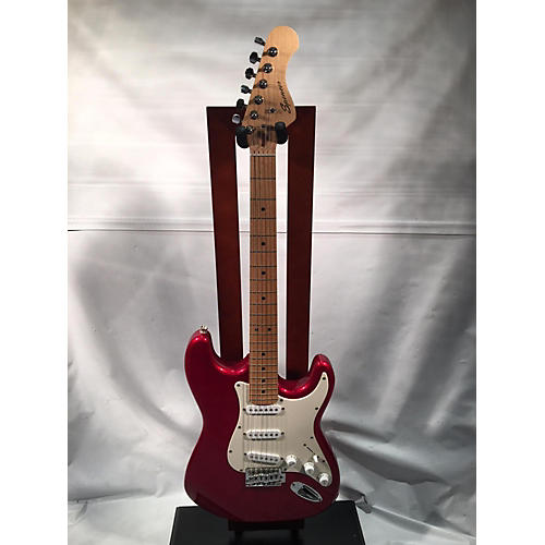 In Store Used Used Spencer Double Cut Candy Apple Red Solid Body Electric Guitar