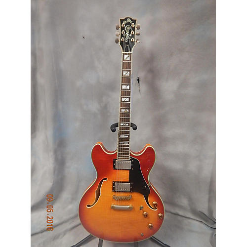 In Store Used Used Springfield Guitar Company 2000s Type 335 Vintage Sunburst Hollow Body Electric Guitar