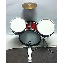 Used Star 3 piece Rhythm King Red Sparkle Drum Kit