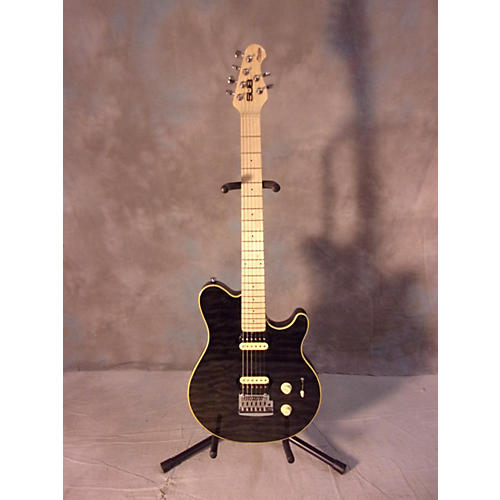 In Store Used Used Sterling Ax3 Grey Solid Body Electric Guitar