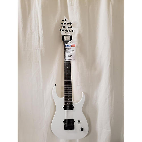 In Store Used Used Strictly 7 KS 7 White Solid Body Electric Guitar