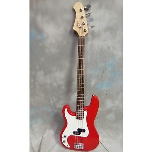 In Store Used Used Super Guitars Bass Red Electric Bass Guitar