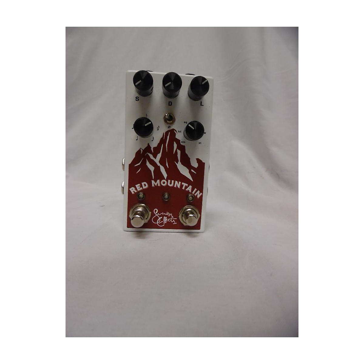 In Store Used Used Swindler Effects Red Mountain V1 Effect Pedal