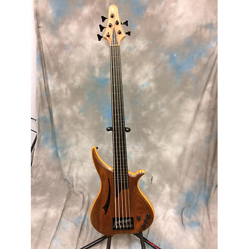 In Store Used Used TUNE JAPANESE FRETLESS Natural Electric Bass Guitar