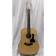 Used Tayor 150c Natural 12 String Acoustic Electric Guitar