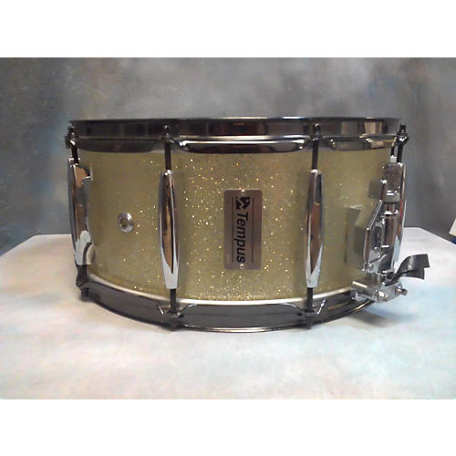 In Store Used Used Tempus 6.5X14 Vintage Fiberglass Drum Champagne Sparkle