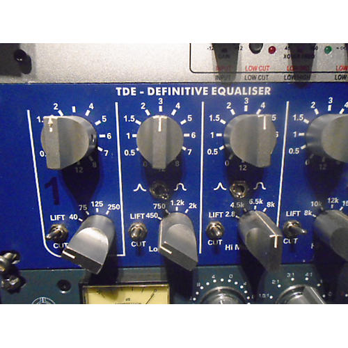 In Store Used Used Tfpro 2006 Tde P9 Definitive Mastering Equalizer Equalizer
